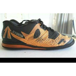 A1WIN Boys Athletic Shoes Black Low Top Lace Up